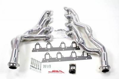 Long Tube - Automotive - JBA Exhaust - 67-70 Mustang 390/427/428CJ Sil Cer