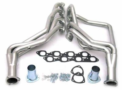 Long Tube - Truck & SUV - JBA Exhaust - 88-98 GM Truck 7.4L Sil Cer