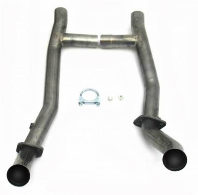High Flow Mid-Pipes - Automotive - JBA Exhaust - H-Pipe for 1650, 289/302, T-5 Trans