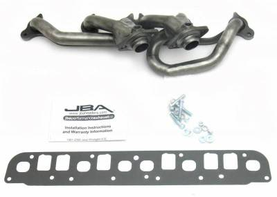 Cat4Ward Shorty - Truck & SUV - JBA Exhaust - 00-06 Jeep Wrangler 4.0L