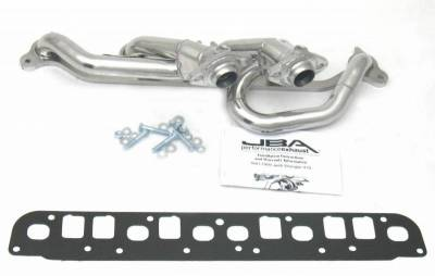Cat4Ward Shorty - Truck & SUV - JBA Exhaust - 00-06 Jeep Wrangler 4.0L Sil Cer