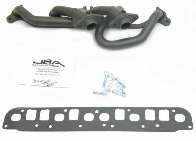 Cat4Ward Shorty - Truck & SUV - JBA Exhaust - 00-06 Jeep Wrangler 4.0L Ti Cer