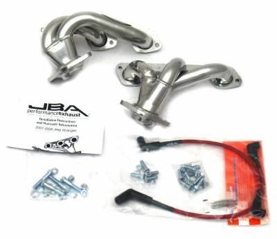 Cat4Ward Shorty - Truck & SUV - JBA Exhaust - 07-11 Jeep 3.8L Sil Cer