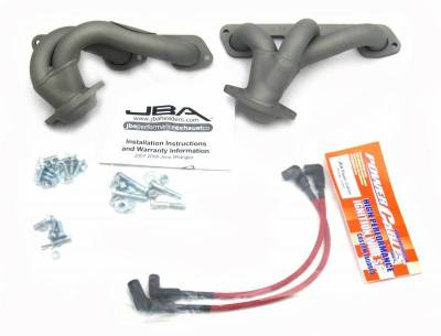 Cat4Ward Shorty - Truck & SUV - JBA Exhaust - 07-11 Jeep 3.8L Ti Cer