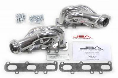 Cat4Ward Shorty - Automotive - JBA Exhaust - 11-14 Mustang V6 Sil Cer
