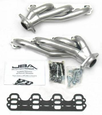 Cat4Ward Shorty - Automotive - JBA Exhaust - 86-93 Mustang 5.0L 1-5/8 Sil Cer