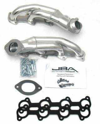 Cat4Ward Shorty - Automotive - JBA Exhaust - 99-04 Mustang GT 4.6L (2V) Sil Cer