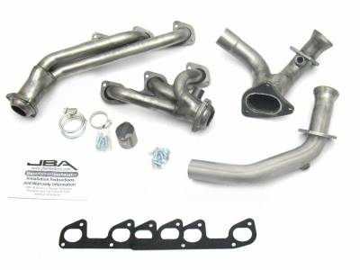 Cat4Ward Shorty - Truck & SUV - JBA Exhaust - 95-97 Ranger 4.0L V-6 Includes Y-Pipe