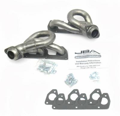 Cat4Ward Shorty - Truck & SUV - JBA Exhaust - 02-09 Ford Ranger 3.0L V-6