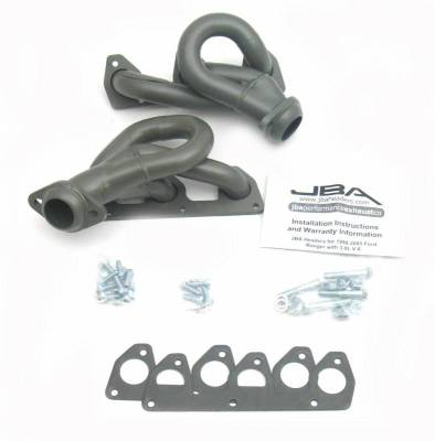 Cat4Ward Shorty - Truck & SUV - JBA Exhaust - 02-09 Ford Ranger 3.0L V-6 Ti Cer