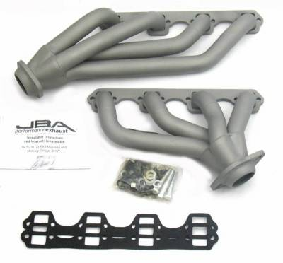 Cat4Ward Shorty - Automotive - JBA Exhaust - 65-73 Mustang 351W Ti Cer