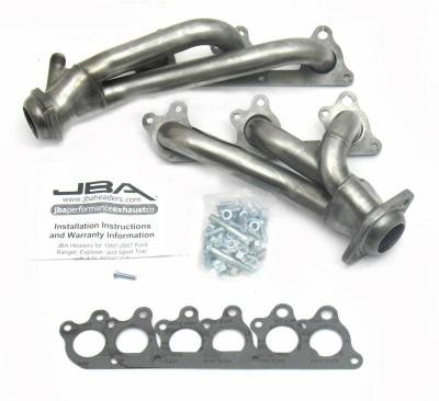 Cat4Ward Shorty - Truck & SUV - JBA Exhaust - 00-11 Ranger/Expl 4.0L SOHC