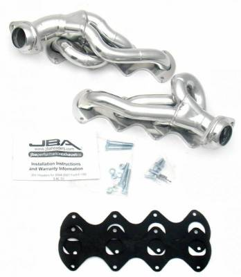 Cat4Ward Shorty - Truck & SUV - JBA Exhaust - 05-10 Ford F-250/350 5.4 Sil Cer
