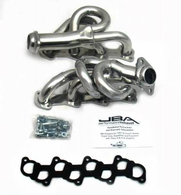 Cat4Ward Shorty - Truck & SUV - JBA Exhaust - 97-03 Ford Truck 4.6L Sil Cer