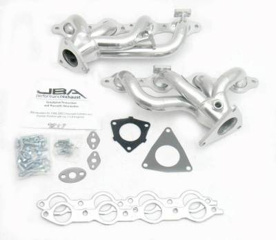 Cat4Ward Shorty - Automotive - JBA Exhaust - 00 Camaro/Firebird LS1 Sil Cer