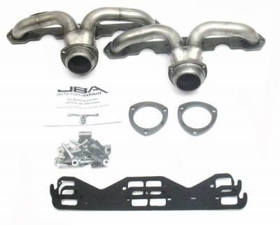 Cat4Ward Shorty - Automotive - JBA Exhaust - Chevrolet Center Exit Header Pre-LT1 Hds