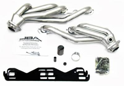 Cat4Ward Shorty - Truck & SUV - JBA Exhaust - 88-95 GM Truck 5.0L & 5.7L Sil Cer