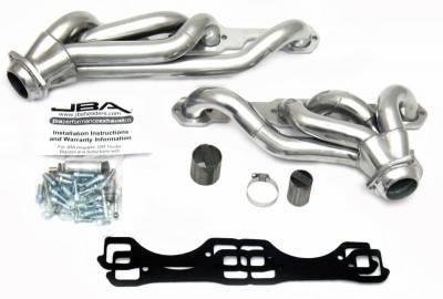 Cat4Ward Shorty - Truck & SUV - JBA Exhaust - 87-91 Suburban/Blazer Sil Cer