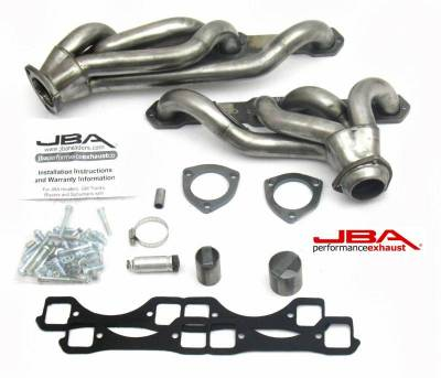 Cat4Ward Shorty - Truck & SUV - JBA Exhaust - GM 65-86 Truck 5.0/5.7L w/Carb