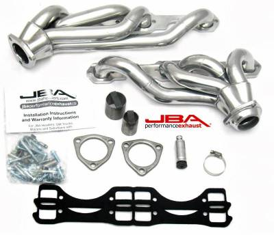Cat4Ward Shorty - Truck & SUV - JBA Exhaust - GM 65-86 Truck 5.0/5.7L w/Carb Sil Cer