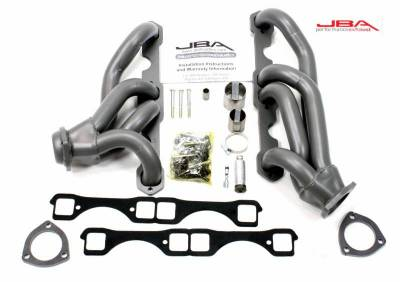Cat4Ward Shorty - Truck & SUV - JBA Exhaust - GM 65-86 Truck 5.0/5.7L w/Carb Ti Cer