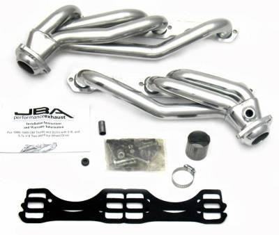 Cat4Ward Shorty - Truck & SUV - JBA Exhaust - 96-99 GM Truck 5.0L & 5.7L Sil Cer
