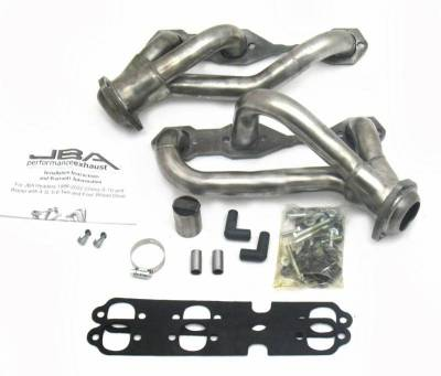 Cat4Ward Shorty - Truck & SUV - JBA Exhaust - 88-95/02-03 Blazer 4.3L 4wd