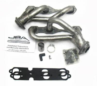 Cat4Ward Shorty - Truck & SUV - JBA Exhaust - 88-95/02-03 S10 4.3L 2wd