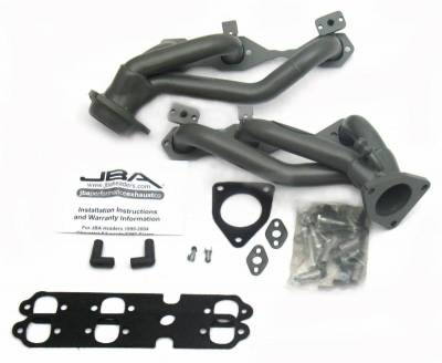 Cat4Ward Shorty - Truck & SUV - JBA Exhaust - 99-02 GM Truck 4.3L V-6 Ti Cer