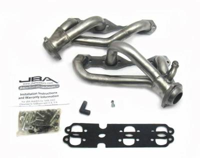 Cat4Ward Shorty - Truck & SUV - JBA Exhaust - 96-01 Blazer/Jimmy/S-10 4wd 4.3L