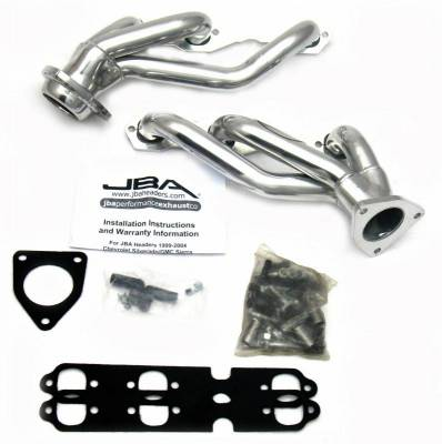 Cat4Ward Shorty - Truck & SUV - JBA Exhaust - 03-12 GM Truck 4.3L V-6 Sil Cer
