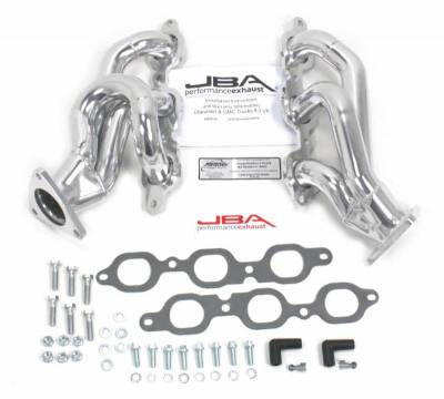 Cat4Ward Shorty - Truck & SUV - JBA Exhaust - 14 GM Truck 4.3L V-6 Sil Cer