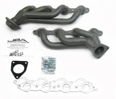 Cat4Ward Shorty - Truck & SUV - JBA Exhaust - 02-2013 GM Truck/Suv 4.8/5.3 & '07-14 6.0/6.2L Ti Cer