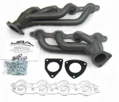 Cat4Ward Shorty - Truck & SUV - JBA Exhaust - 03-06 GM Truck/Hummer 6.0L Ti Cer
