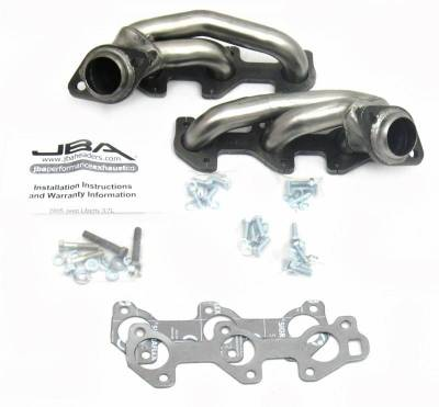Cat4Ward Shorty - Truck & SUV - JBA Exhaust - 05-07 Jeep Liberty 3.7L