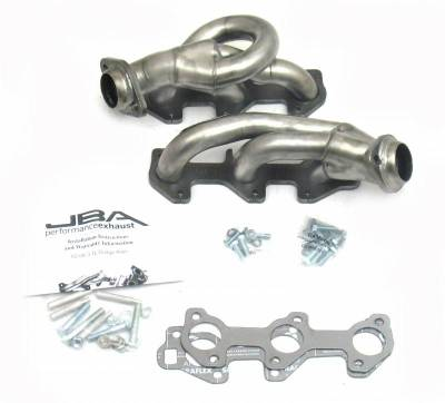Cat4Ward Shorty - Truck & SUV - JBA Exhaust - 02-08 Dodge Ram 3.7L