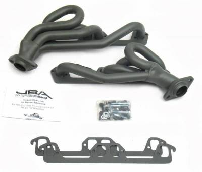 Cat4Ward Shorty - Truck & SUV - JBA Exhaust - 96-02 Ram/Dakota/Durango Ti Cer