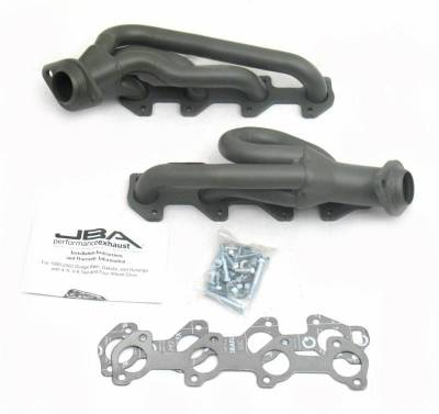Cat4Ward Shorty - Truck & SUV - JBA Exhaust - 02-03 Dodge Ram 4.7L Ti Cer