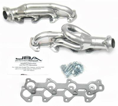 Cat4Ward Shorty - Truck & SUV - JBA Exhaust - 04-07 Dodge Ram 4.7L Sil Cer