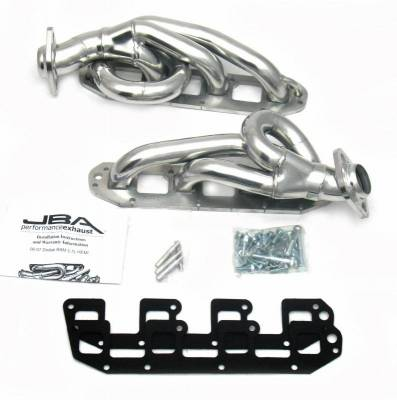 Cat4Ward Shorty - Truck & SUV - JBA Exhaust - 03-08 Ram 5.7L Hemi All Sil Cer