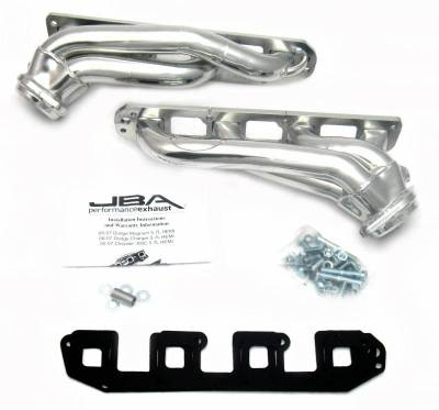 Cat4Ward Shorty - Automotive - JBA Exhaust - 05-08 Dodge Mag/Charg/300 5.7L Sil Cer