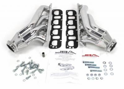 Cat4Ward Shorty - Automotive - JBA Exhaust - 05-14  6.1/6.4L Chllngr/Chrgr/Mgnm/300C Silver Ceramic