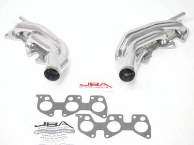 Cat4Ward Shorty - Truck & SUV - JBA Exhaust - 12-15Toyota 4.0L w/ Air Injection Silver Ceramic
