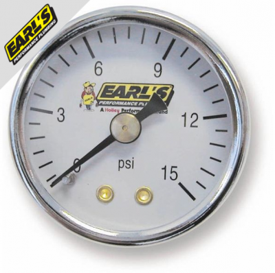 Earl's Performance Plumbing - Fuel System Components - Gauges