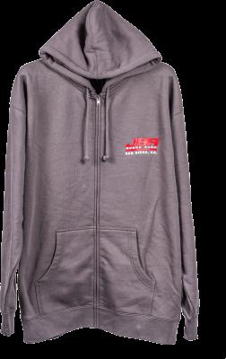 Speed Shop Lifestyle - JBA Hooded Zipper Grey