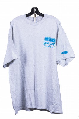 JBA Merchandise - JBA T-Shirt Grey - Ford Drag Team