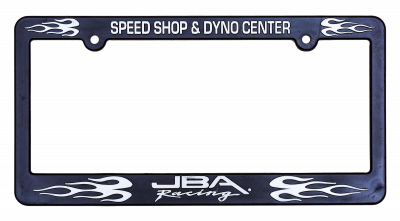 JBA Merchandise - JBA License Plate Frame - JBA Racing