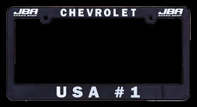 "JBA Merchandise  - JBA License Plate Frame - ""Chevrolet"" - ""USA#1"""