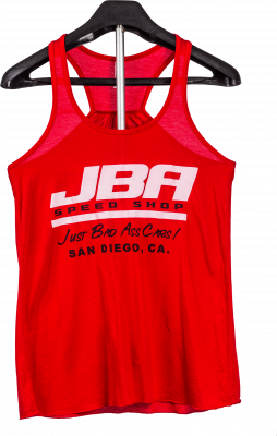 JBA Merchandise - JBA Womens Red Tank Top