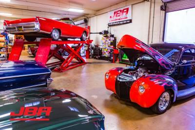 In the shop @ JBA Speed Shop